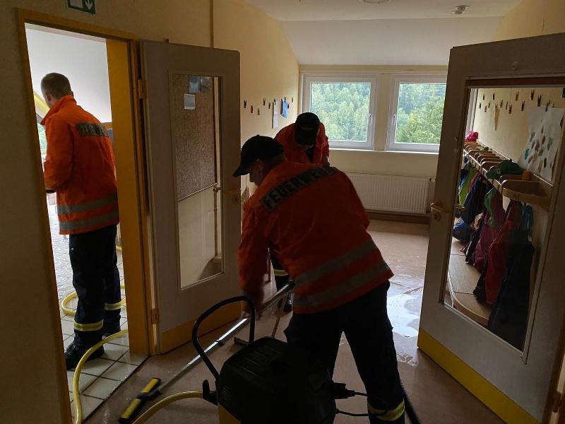 technische Hilfeleistung, Wasserschaden/Hochwasser